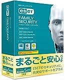 ESET ファミリー セキュリティ まるごと安心パック |5台1年版|パッケージ版(サポート付)