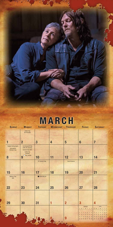 The Walking Dead 2020-18-Monatskalender Original BrownTrout-Kalender