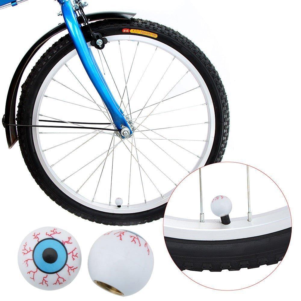 TOOGOO 2pcs Tappi Coprivalvole per Cappucci Coprivalvola Pneumatici Smile Face//Tappi Valvola//Valvola Ruota//Pneumatici per Auto Motos Bike