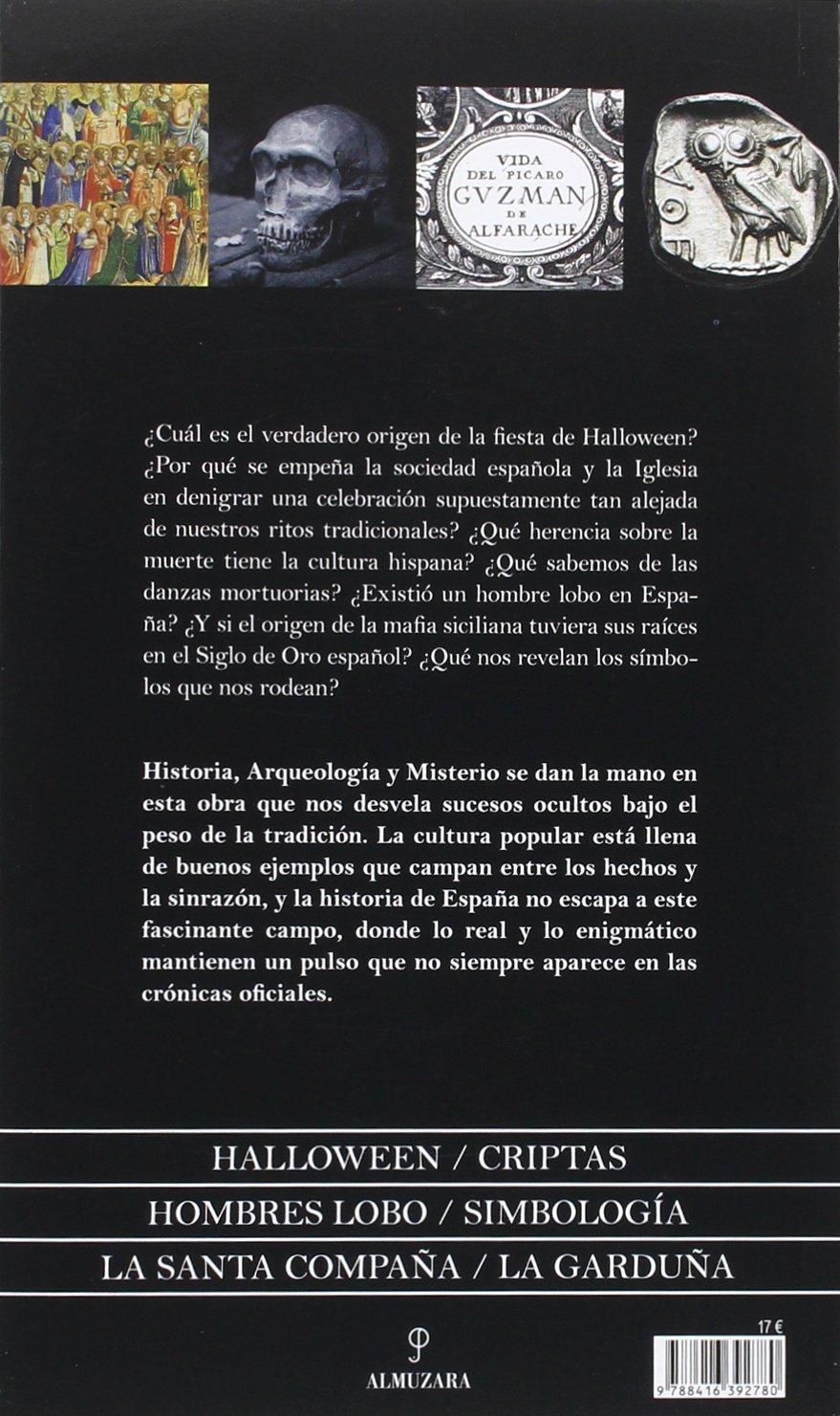 Enigmas Y Misterios De La España Oculta: Amazon.es: Cardelo Salido ...