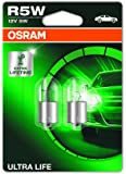 OSRAM ULTRA LIFE R5W plaque d'immatriculation, rear et position light 5007ULT-02B durée de vie extra longue en double blister