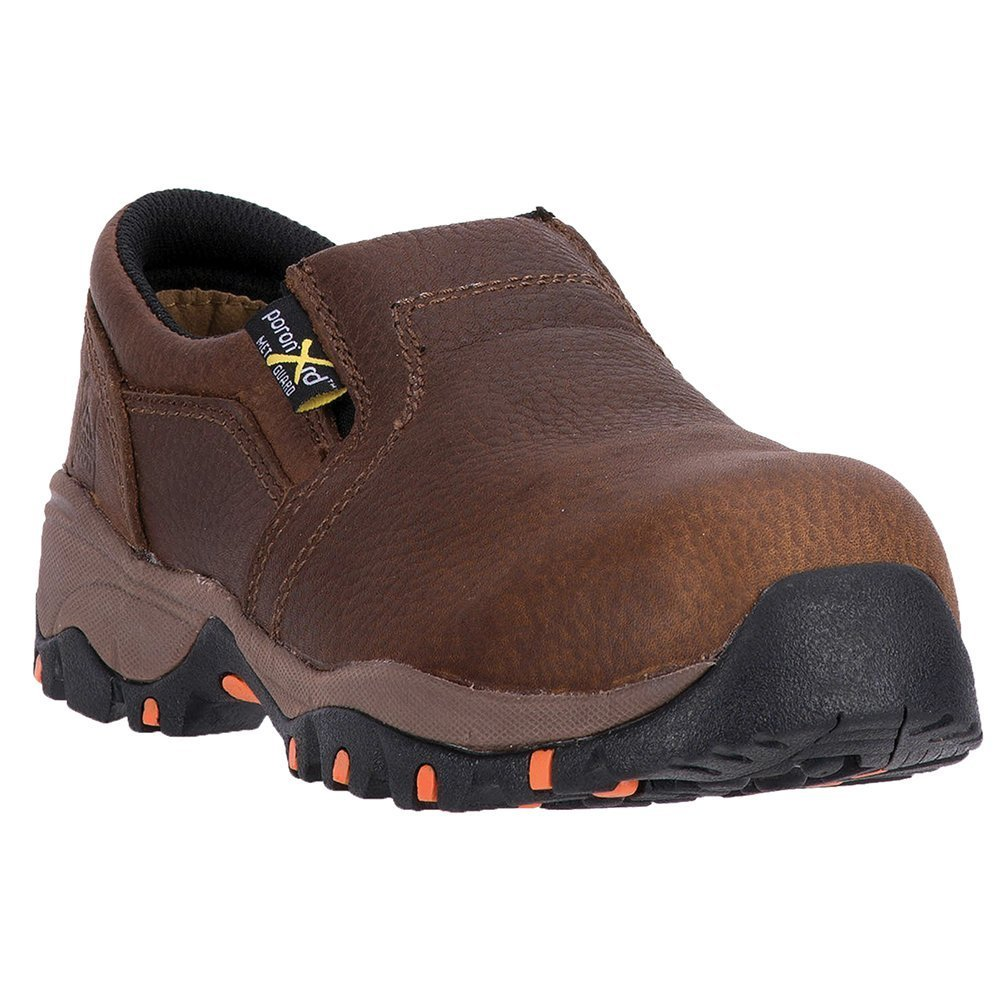 MR41704 McRae Women's Met Guard Safety Shoes - Brown - 6.5 - W