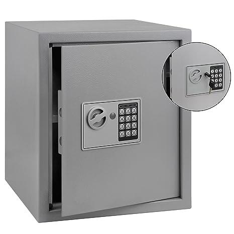 vidaXL Tresor Elektronisch 40x35x60 cm Safe Möbeltresor Geldschrank Wandtresor