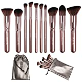 Amazon Price History for:[Updated Version] Docolor Makeup Brushes Set Kabuki Foundation Kits with Cases(10Pcs,Coffee)