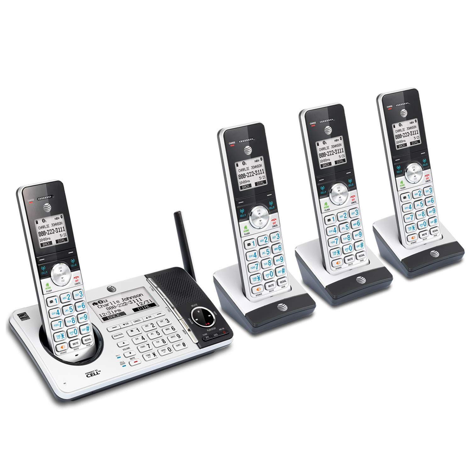 telephone hook up to cell phone