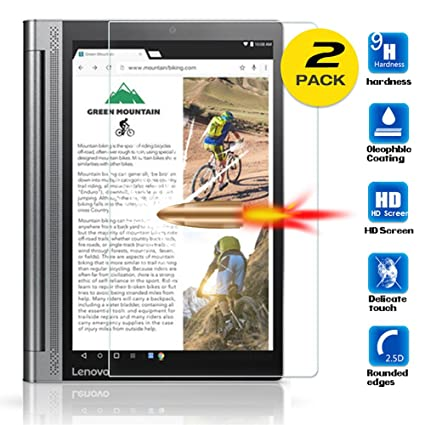 Amazon.com: For Lenovo Yoga Tab 3 Plus Tempered Glass Screen ...