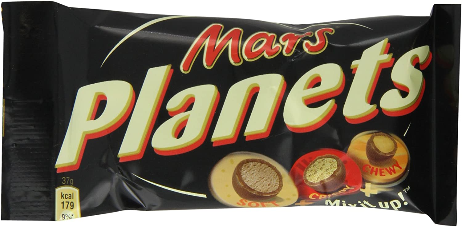 Image result for mars planets chocolate
