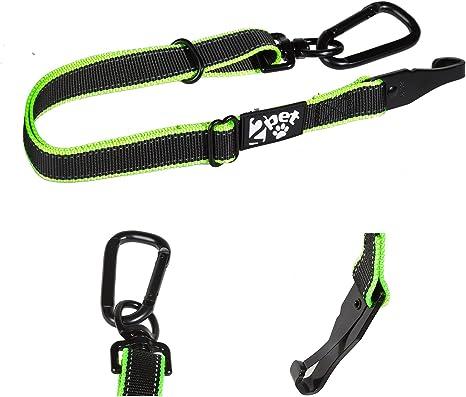 2PET Cinturón de Seguridad Ajustable para Perros de 2 Mascotas ...