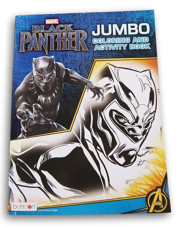 96 Pages Bendon Publishing International Black Panther Coloring Book