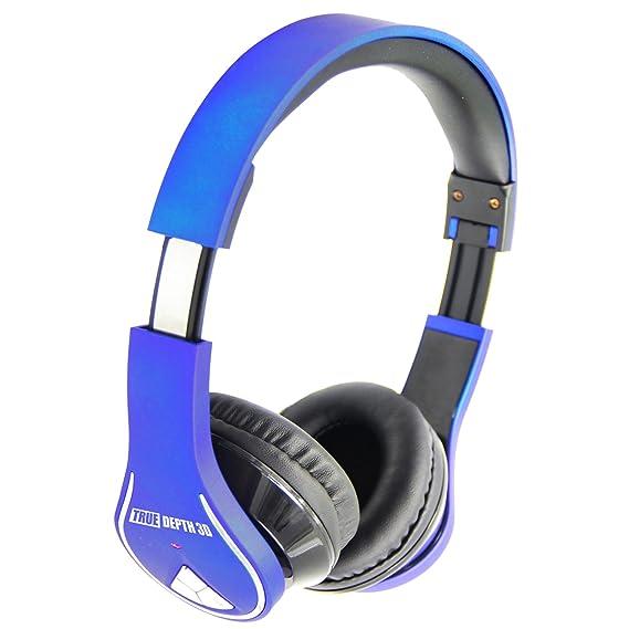 e726d690995 Image Unavailable. Image not available for. Color: True Depth 3D BT Audio  Surge Bluetooth Wireless Headphones ...