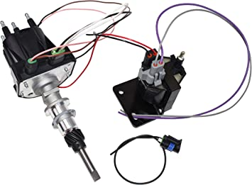 Amazon.com: A-Team Performance EST Marine Electronic Ignition Distributor  and Coil Upgrade Kit 3.0L Delco EST For 4 Cylinder Applications Compatible  with Mercruiser Black Cap: Automotive | Volvo Marine Distributor Wiring |  | Amazon.com