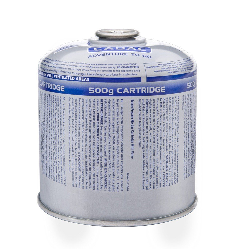 Cadac 500g Gas Cartridge , Butane Propane Mix - CA500