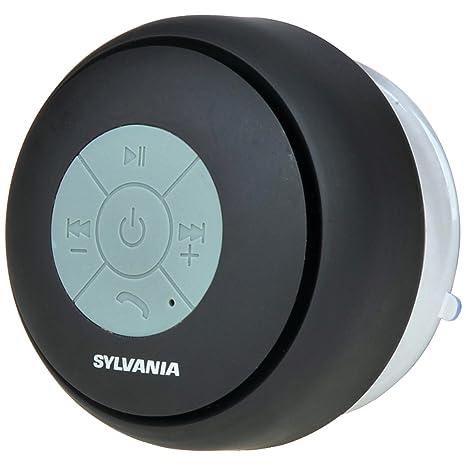 Review Sylvania SP230-Black Bluetooth Shower