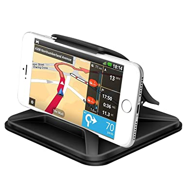 pick up ada17 54a6c FITFORT Car Phone Holder Dash Mount Universal Non-Slip Washable Silicone  GPS Holder Dashboard Cradle Dock for iPhone X 8 7 Plus Galaxy Note 8 S8  Plus ...
