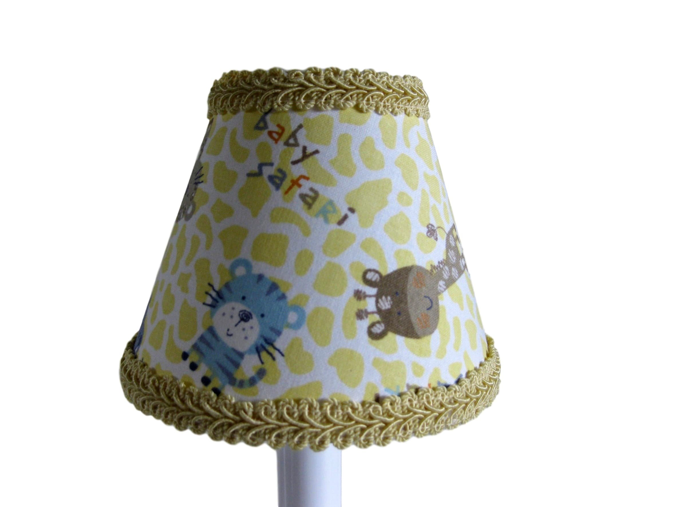 Silly Bear Lighting Animal Adventure Chandelier Shade, Yellow by Silly Bear Lighting