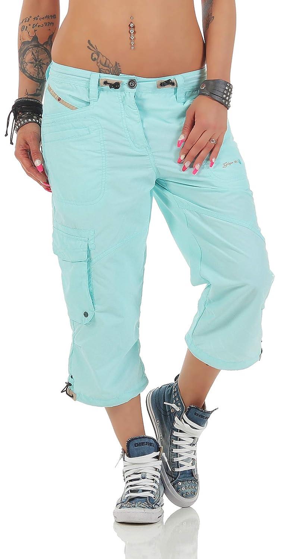 TALLA 34. D&X g.i.g.a. DX Mujer fenia Pantalones Cortos