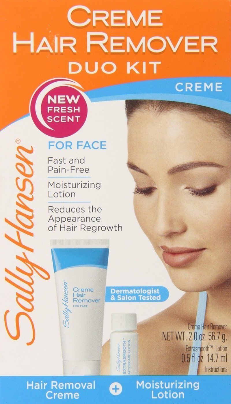 Amazon Com Sally Hansen Cream Hair Remover Kit Pack Of 2 Beauty