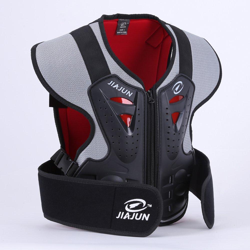 JIAJUN Children's Motorcycle Body Armor Street Bike Chest Protect Off Road Bike Cycling Skiing Riding Skateboarding