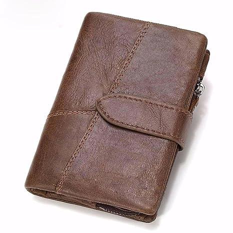 0b8f57e4b84b Amazon.com  NHGY Men s Wallet Leather Short Wallet