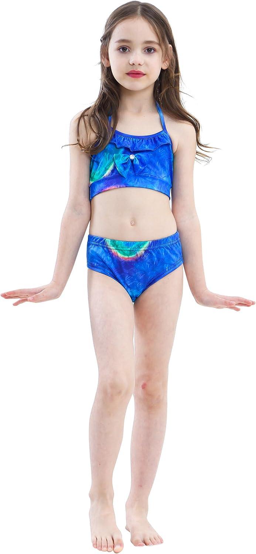 Maillot de bain avec nageoire en queue de sir/ène pour filles