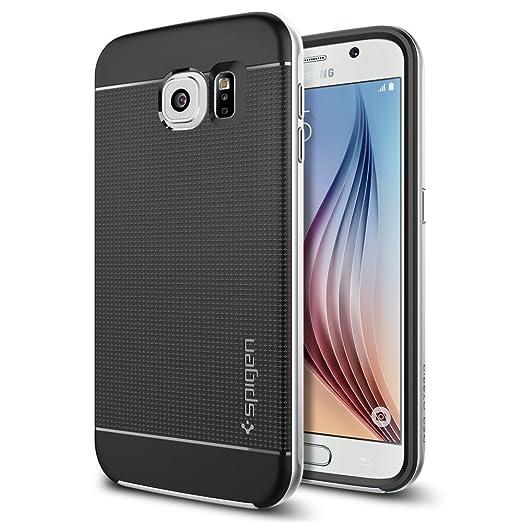 112 opinioni per Spigen SGP11320 Custodia per Galaxy S6, Argento