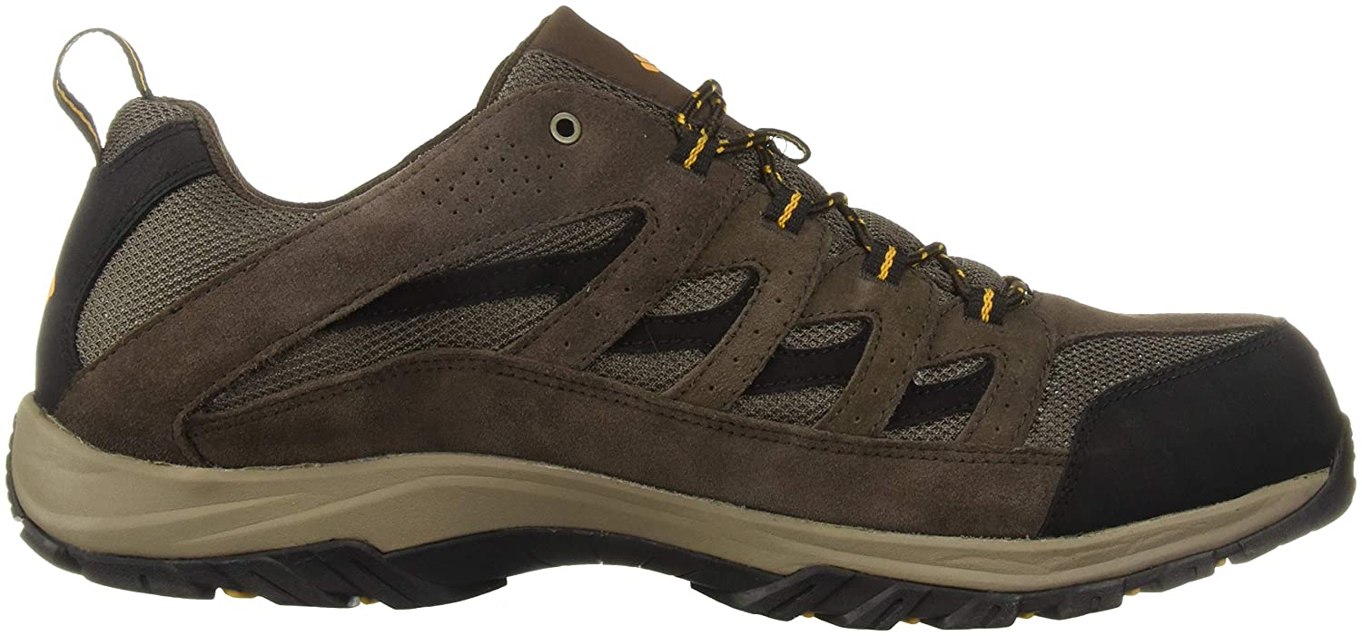 High-Traction Grip Columbia Mens Crestwood Waterproof Hiking Boot Breathable