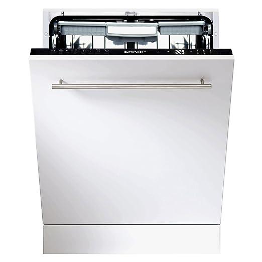 Sharp Home Appliances QW-GD53I443X lavavajilla Totalmente ...