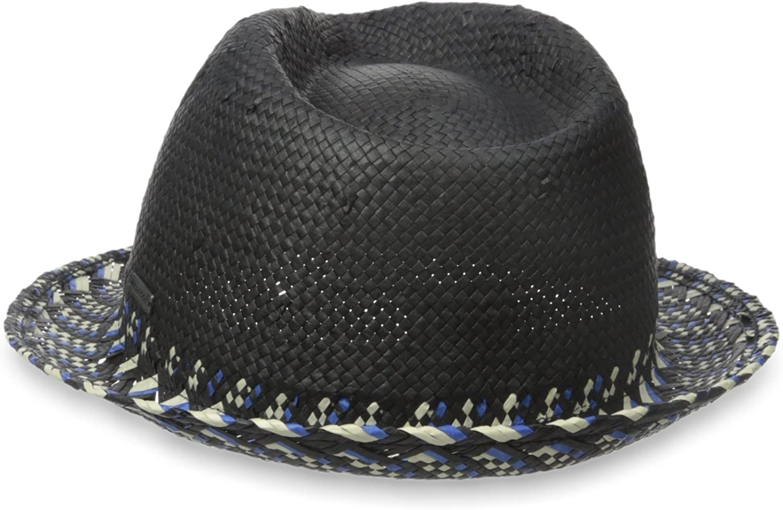 M Kangol Mens Geo Trilby Hat Black