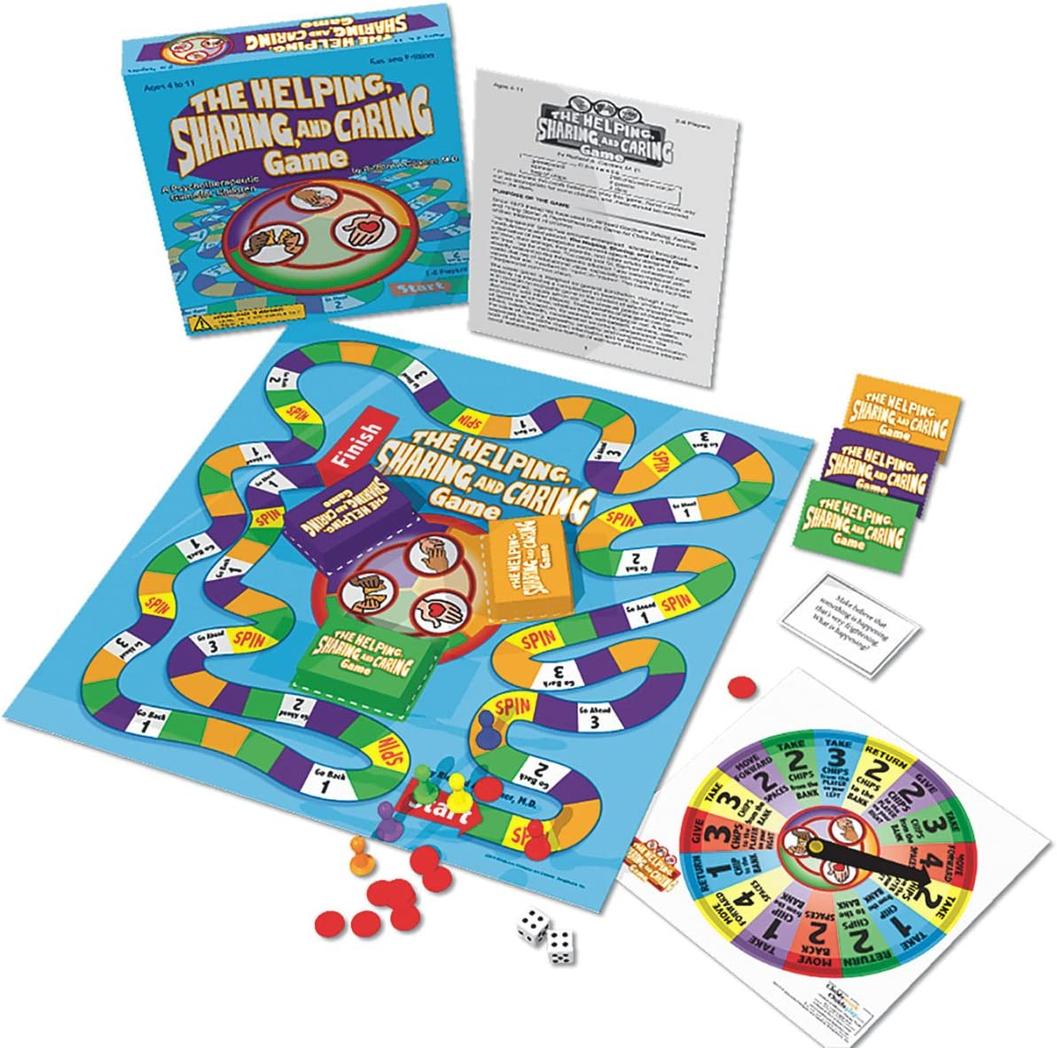 1882732154 Childswork / Childsplay The Helping, Sharing, and Caring Board Game 71gwTYh62sL