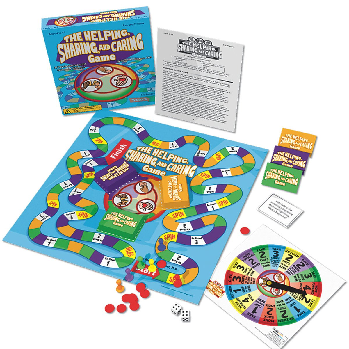 The Helping, Caring & Sharing Board Game