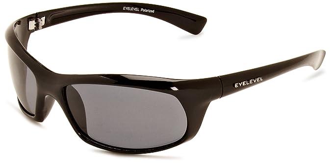 03cc26b740 Eyelevel Tidal Polarised Men s Sunglasses Black One Size  Amazon.co ...