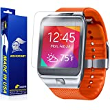 ArmorSuit MilitaryShield - Samsung Galaxy Gear 2 Screen Protector [Full Coverage][2 Pack] Anti-Bubble Ultra HD Shield w/ Lifetime Replacements