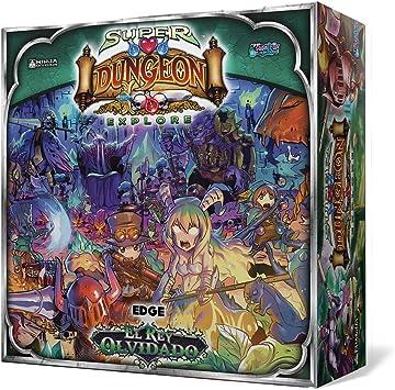 Super Dungeon Explore - El Rey Olvidado, juego de mesa (Edge Entertainment EDGND01) , color/modelo surtido: Amazon.es: Juguetes y juegos