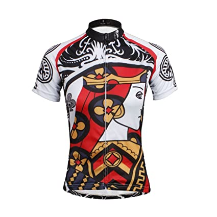 b3efe7583 Paladin Cycling Jersey Women Short Sleeve Club Pattern Bike Shirt Size S