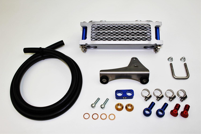 ミニモト エイプ50/100プロテクトオイルクーラーセット3段コア   B01JOD4WUM