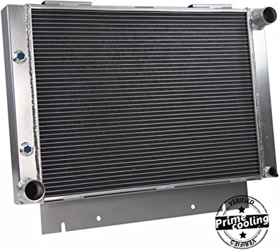 Primecooling 3 Row Full Aluminum Radiator for Ford Galaxie,Galaxie 500,Multiple L6 V8 Engine Models 1960-63