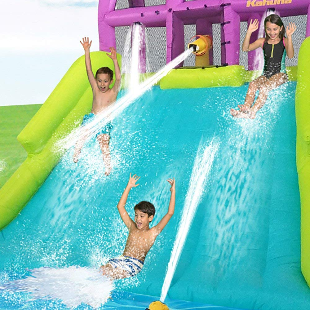 Kahuna Mega Blast Inflatable Backyard Kiddie Pool and Slide Water Park by Kahuna (Image #7)