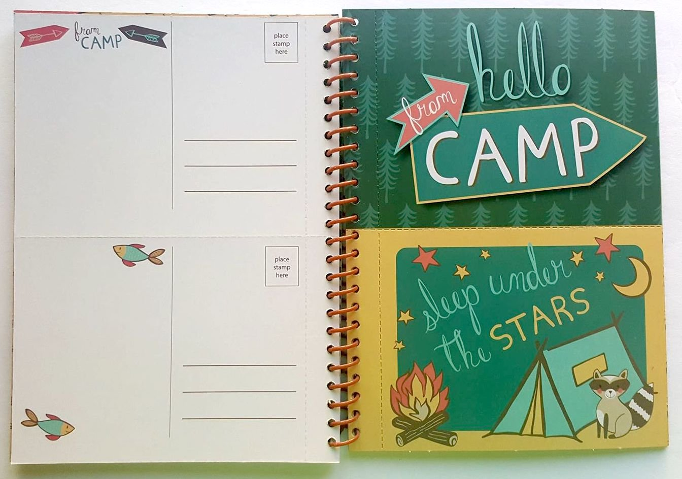 Camp Journal And Activity Book made our CampingForFoodies hand-selected list of 100+ Camping Stocking Stuffers For RV And Tent Campers!