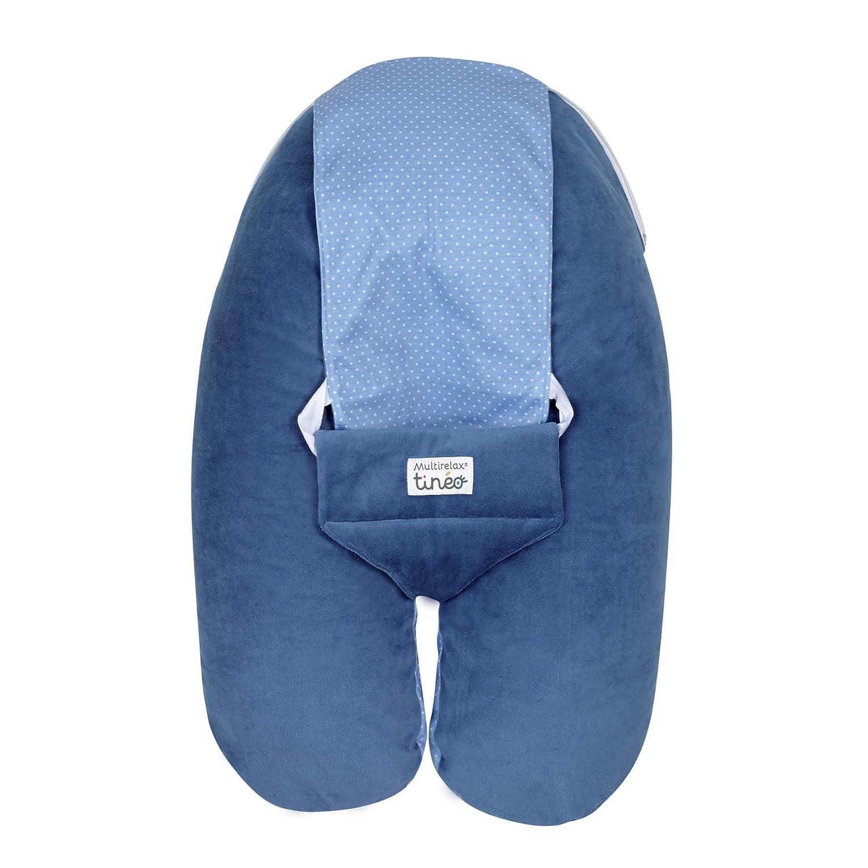 Tinéo Multirelax Évolutif Coussin de Maternité en Velours Bleu Nuit 684545
