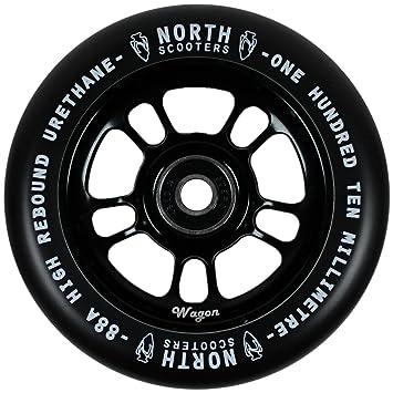Norte Scooters Wagon Negro 88 A rueda para patinete negro ...