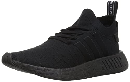 sports shoes a124a 897ed adidas NMD R2 PK 'Triple Black' - BY9525: Amazon.co.uk ...