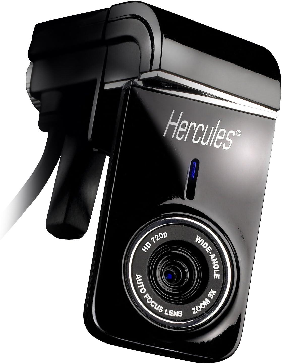 Hercules Dualpix - Webcam, Color Negro: Amazon.es: Informática