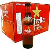FCバルセロナ公式ビール スペインビール エストレージャ ダム 330ml瓶×24本