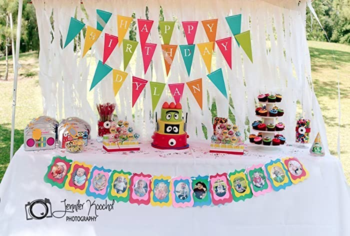 amazon com happy birthday party banner add name customize