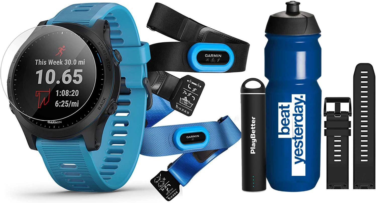 Garmin Forerunner 945 PlayBetter Bundles +Runners Bundle Tri