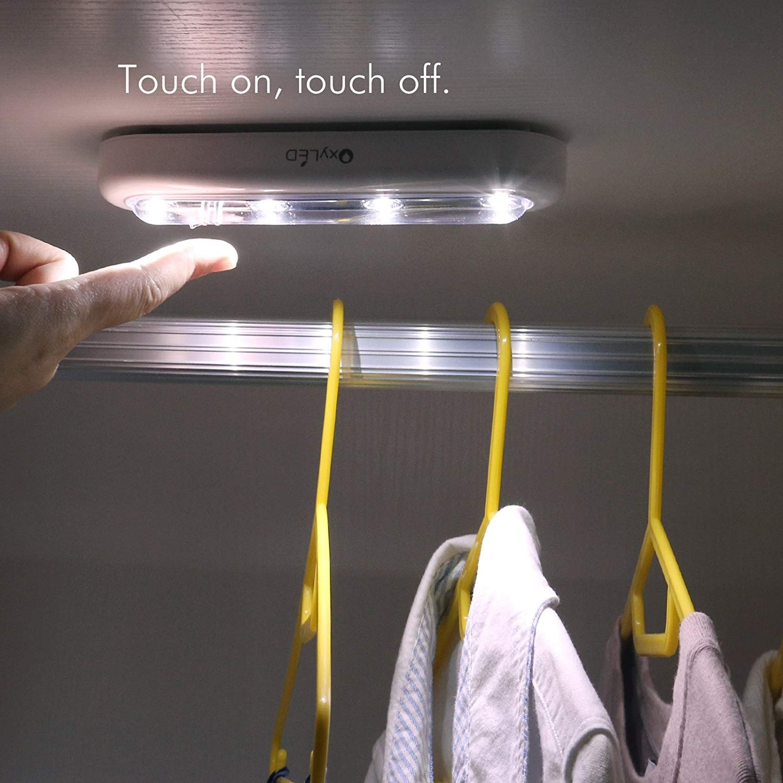 Oxyled T-01 DIY Pack 2 luz blanca ajustable L/ámpara t/áctil led