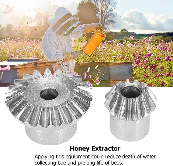 Honig-Filternetz MAGT 2er Edelstahl Bienenzucht Doppelhonigsieb Sieb Extractor Filter Mesh Sieb Ausr/üstung