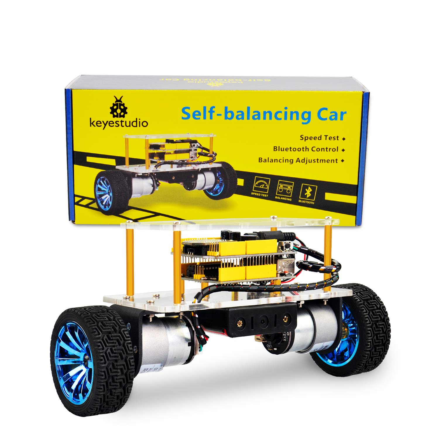 Amazon com: KEYESTUDIO Self-Balancing Robot for Arduino