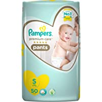 Pampers Premium Care Small Size Diapers Pants, 50 Count