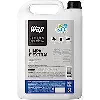 Detergente Limpador para Extratoras WAP LIMPA E EXTRAI 5L com Fragrância e sem Espuma
